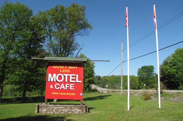 Quiet Bay Log Motel and Cafe